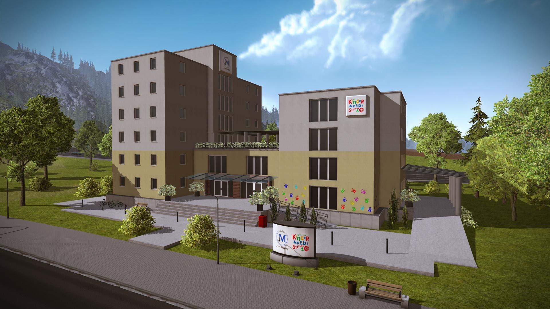 Construction Simulator 2015: St  John's Hospital Fuchsberg