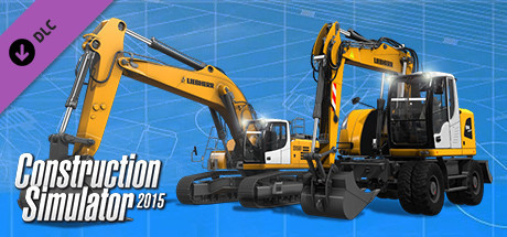 construction simulator 2015 liebherr a 918 on steam. Black Bedroom Furniture Sets. Home Design Ideas