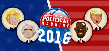 The Political Machine 2016 cover art
