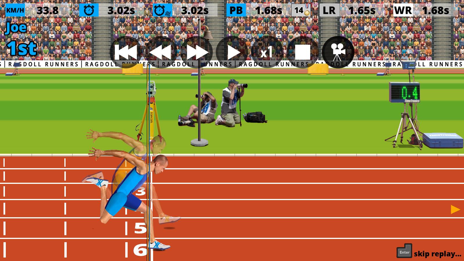 ragdoll runners game