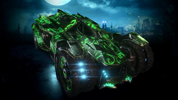 Скриншот №1 к Batman™ Arkham Knight - Riddler Themed Batmobile Skin