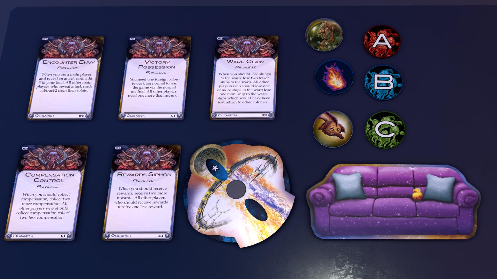 Tabletop simulator cosmic encounter connector no steam ccuart Gallery