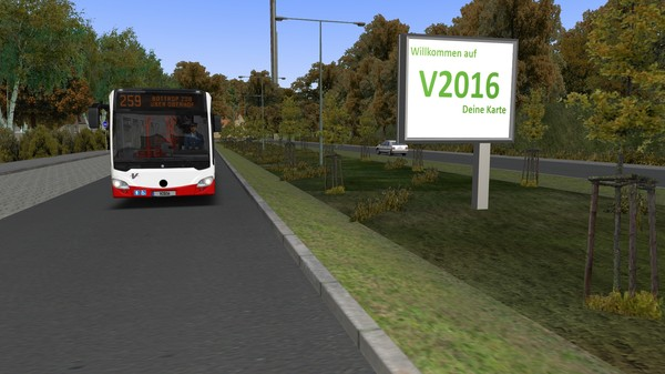 скриншот OMSI 2 Add-On Projekt Gladbeck 4