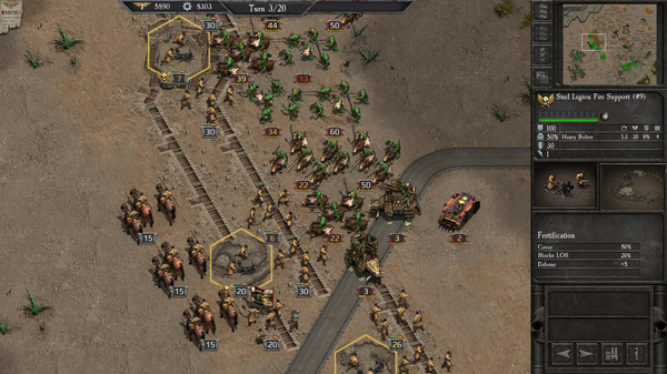 скриншот Warhammer 40,000 : Armageddon - Ork Hunters 3
