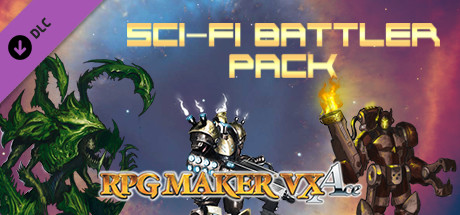 RPG Maker VX Ace - Sci-Fi Battler Pack