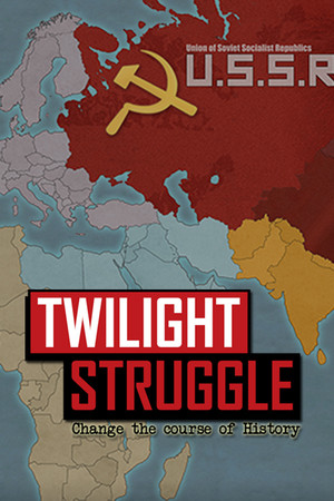 Twilight Struggle poster image on Steam Backlog