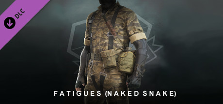 METAL GEAR SOLID V: THE PHANTOM PAIN – Fatigues (Naked Snake)