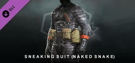 METAL GEAR SOLID V: THE PHANTOM PAIN – Sneaking Suit (Naked Snake)