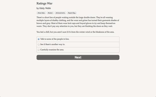 Ratings War 0
