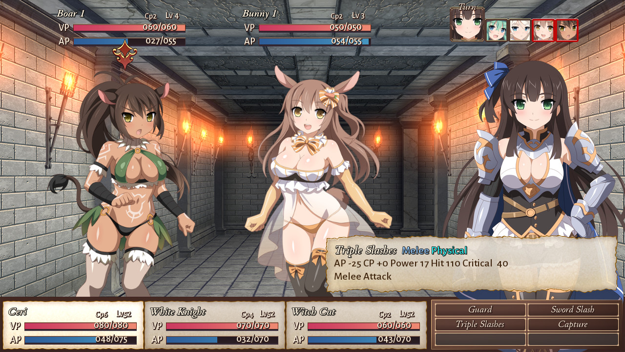 Sakura Dungeon Screenshot 2