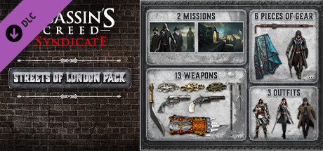 Assassin's Creed Syndicate Streets of London Pack