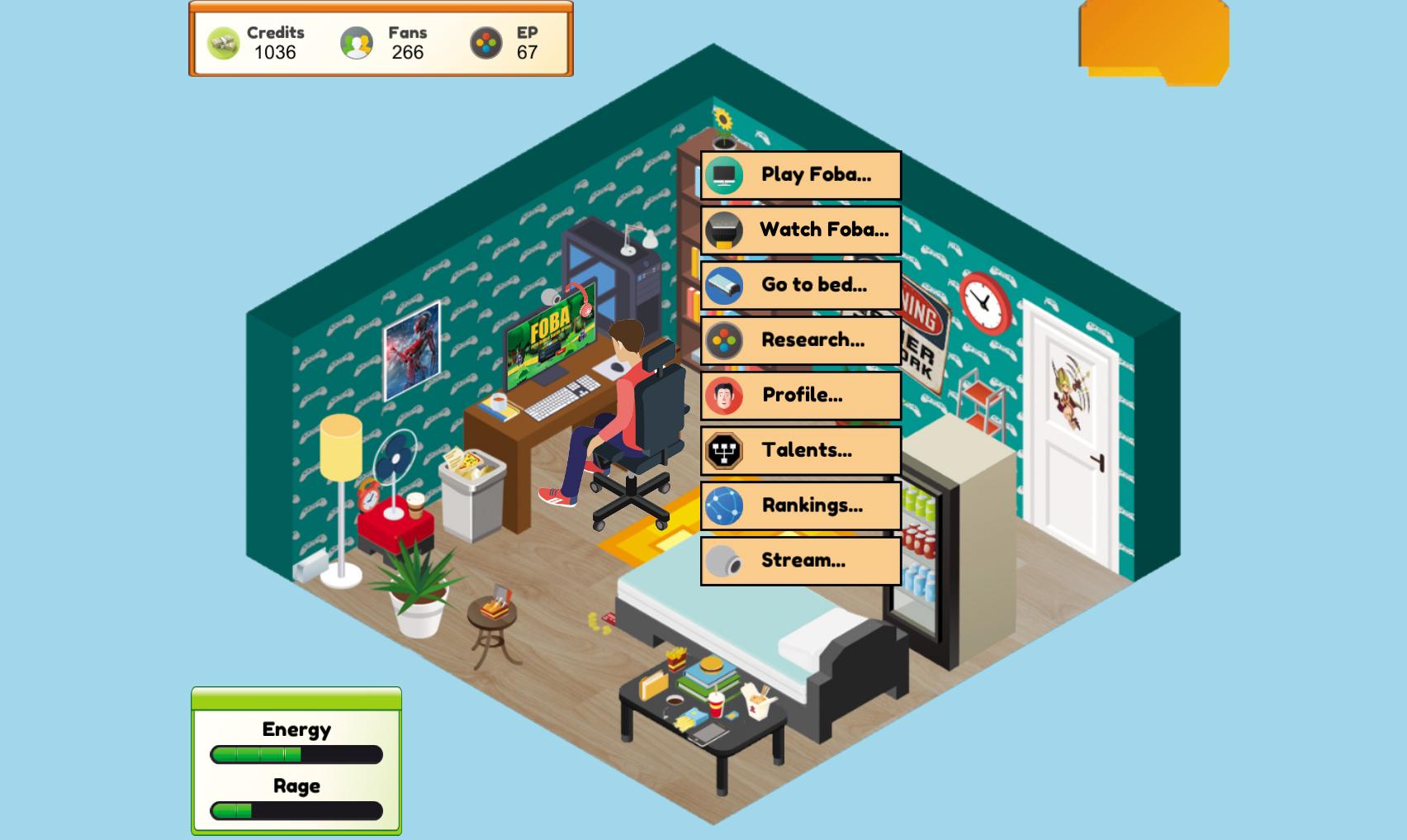 Pro Gamer Manager screenshot