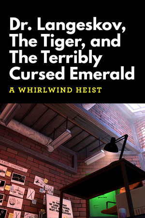 Dr. Langeskov, The Tiger, and The Terribly Cursed Emerald: A Whirlwind Heist poster image on Steam Backlog