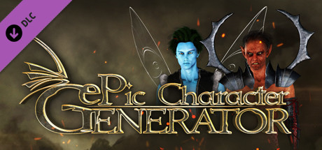 ePic Character Generator - Season #2: Male Supernatural on Steam