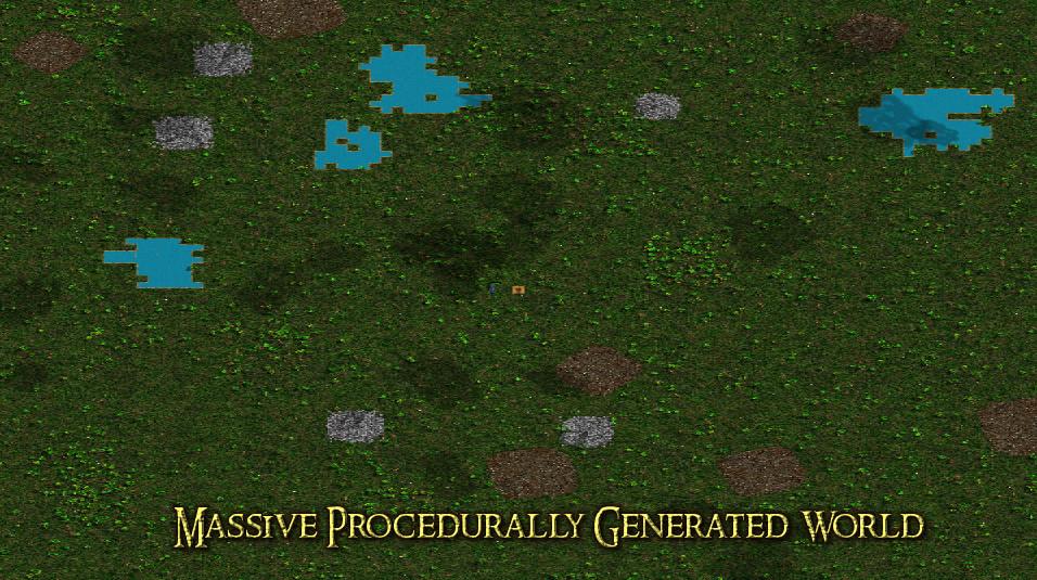 Randomly Generated Open World RPG