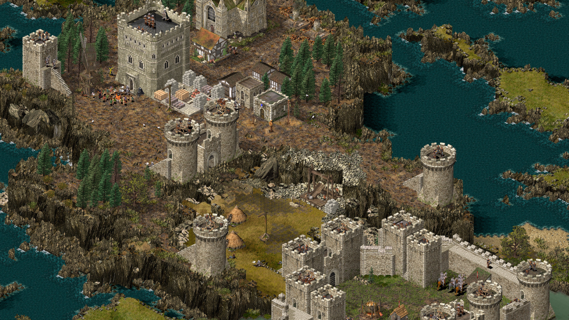 Stronghold HD screenshot 2