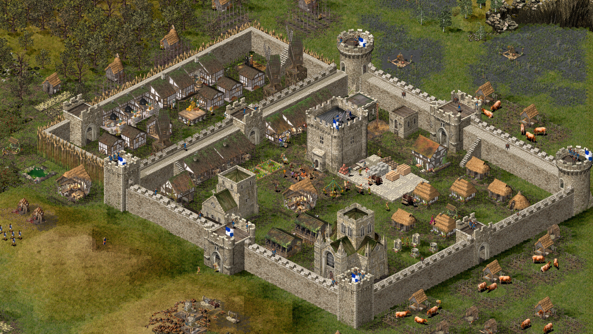 Stronghold HD screenshot 1