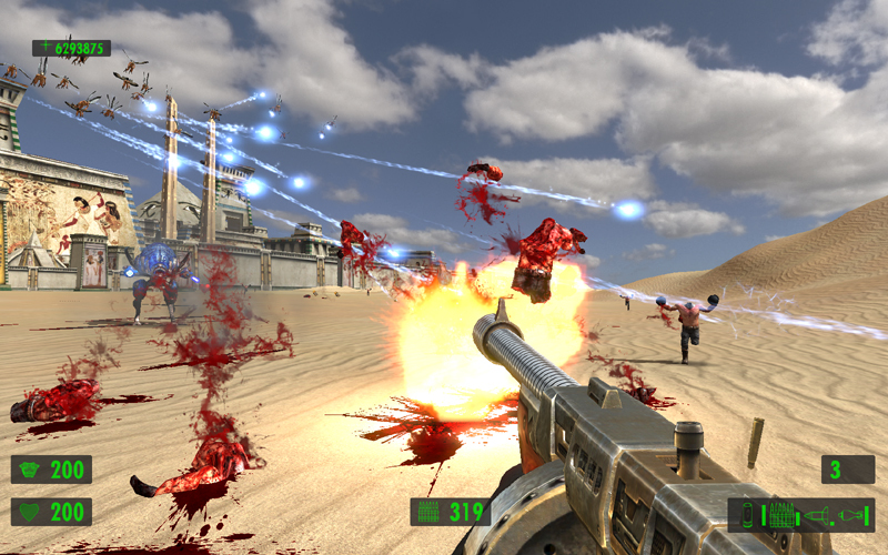 Serious Sam HD: The First Encounter [2009|Rus|Eng|Multi8]