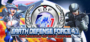 EARTH DEFENSE FORCE 4.1  The Shadow of New Despair cover art