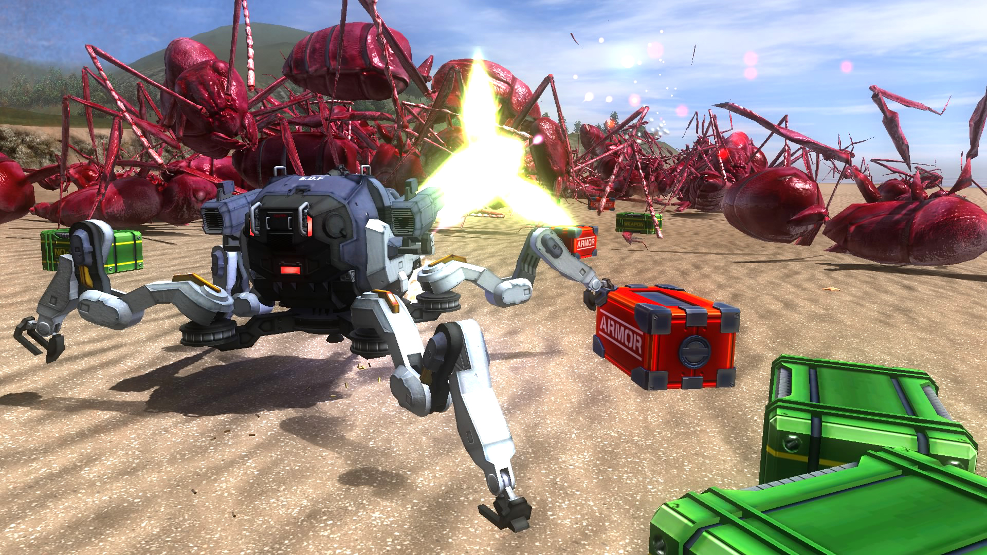 EARTH DEFENSE FORCE 4.1 The Shadow of New Despair Screenshot 2