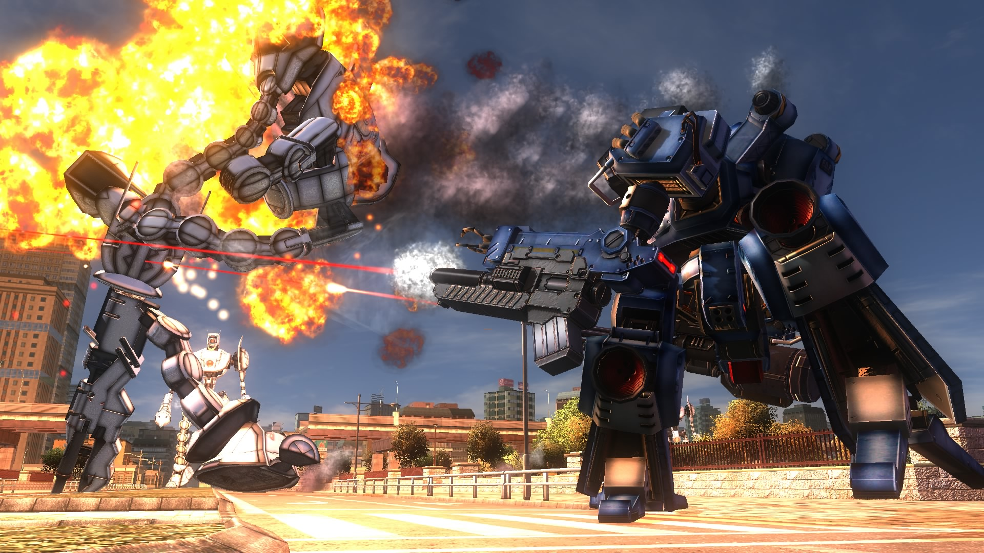 EARTH DEFENSE FORCE 4.1 The Shadow of New Despair Screenshot 1