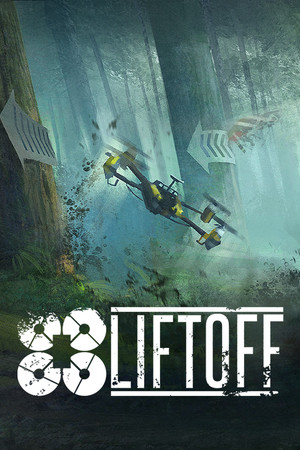 Liftoff: FPV Drone Racing poster image on Steam Backlog