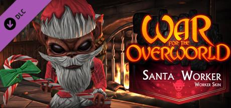 War for the Overworld - Santa Worker Skin