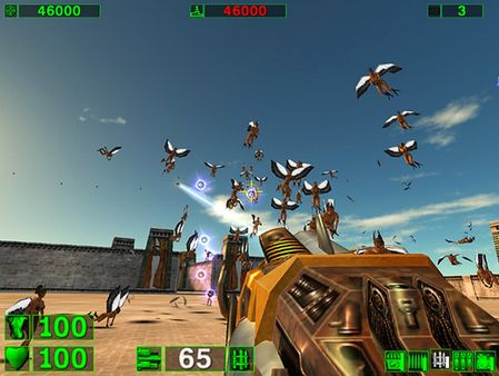 Screenshot of Serious Sam Classic: The First Encounter