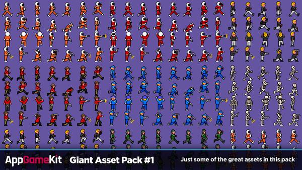Скриншот из AppGameKit Classic - Giant Asset Pack 1