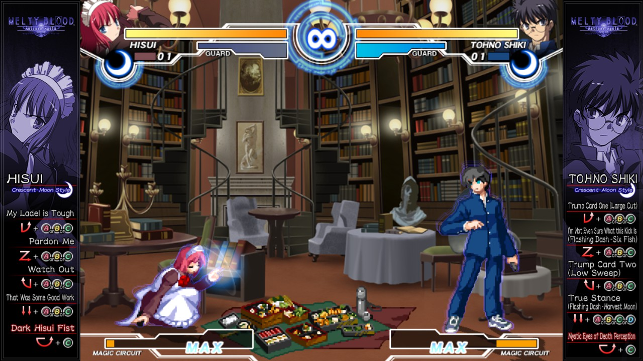 Melty Blood Actress Again Current Code System Requirements