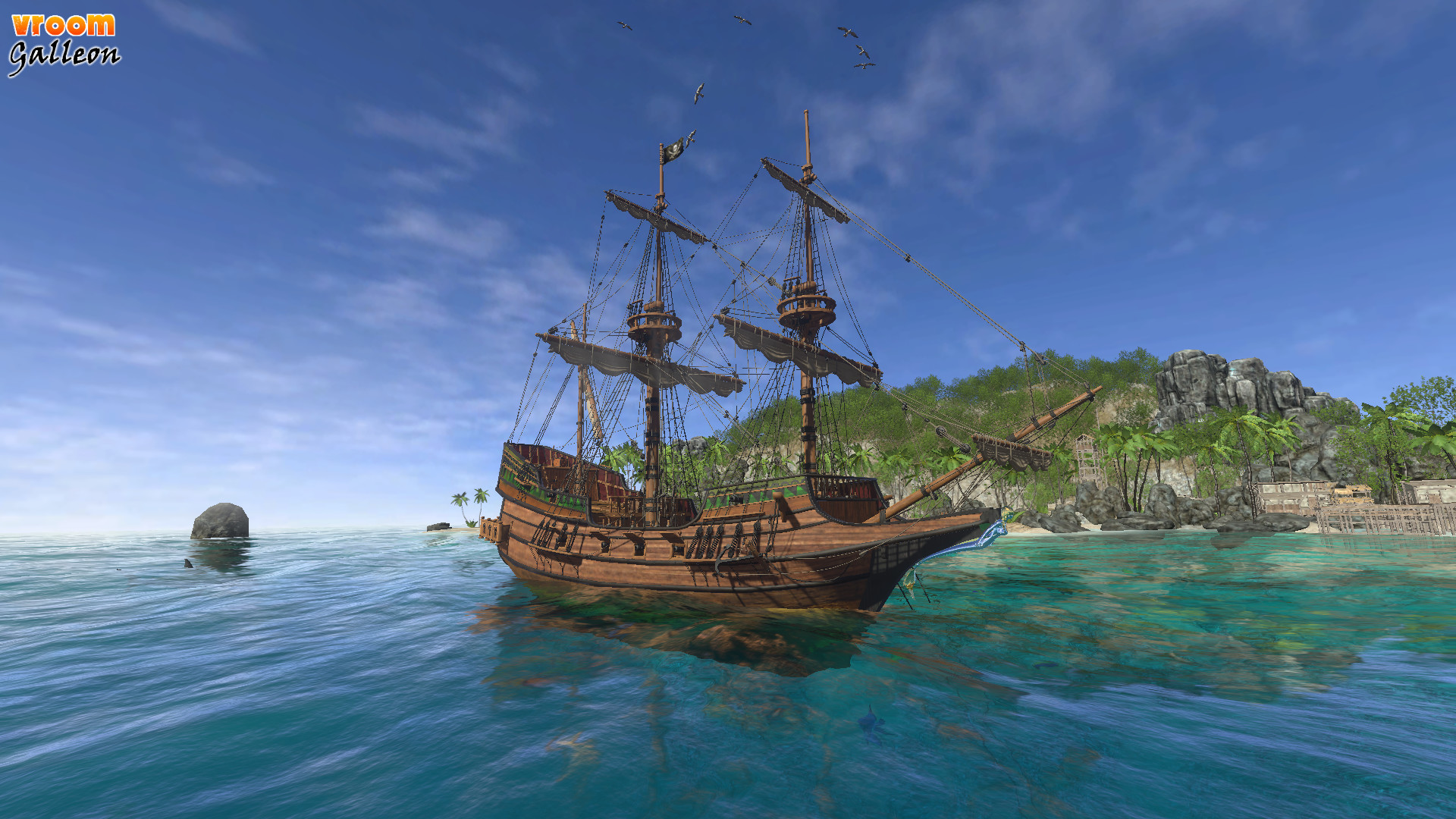 vroom galleon on steam