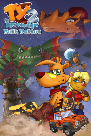TY the Tasmanian Tiger 2 poster image on Steam Backlog