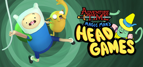 Experience Adventure Time like never before in this amazing new VR game, Magic Man's Head Games.