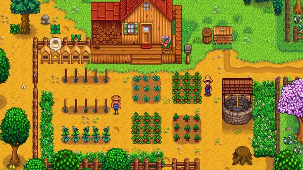 Screenshot of the indie game Stardew Valley