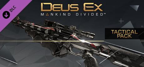 Deus Ex: Mankind Divided DLC Tactical Pack