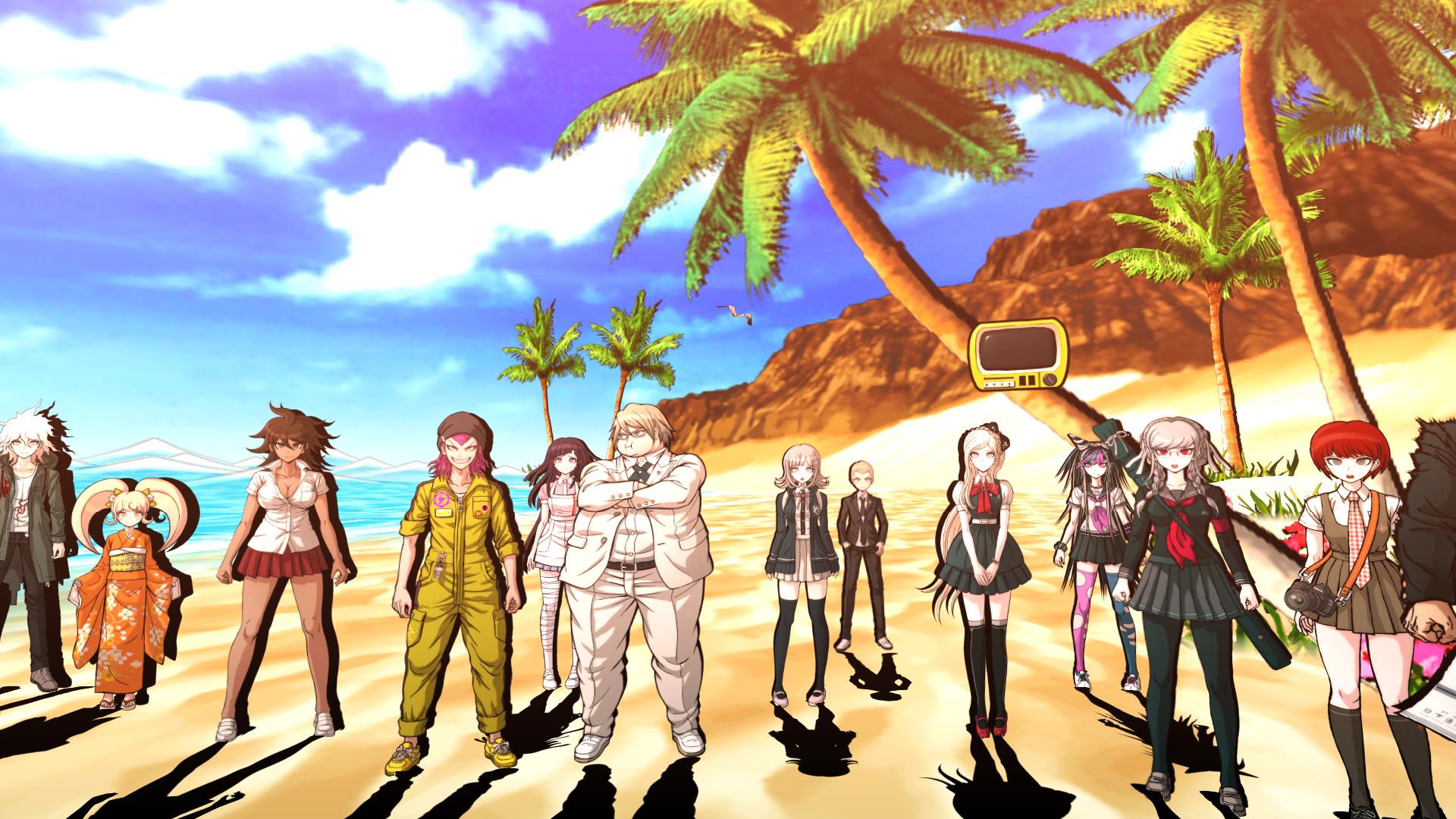 Image result for danganronpa 2 gameplay