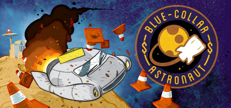 Game Banner Blue-Collar Astronaut