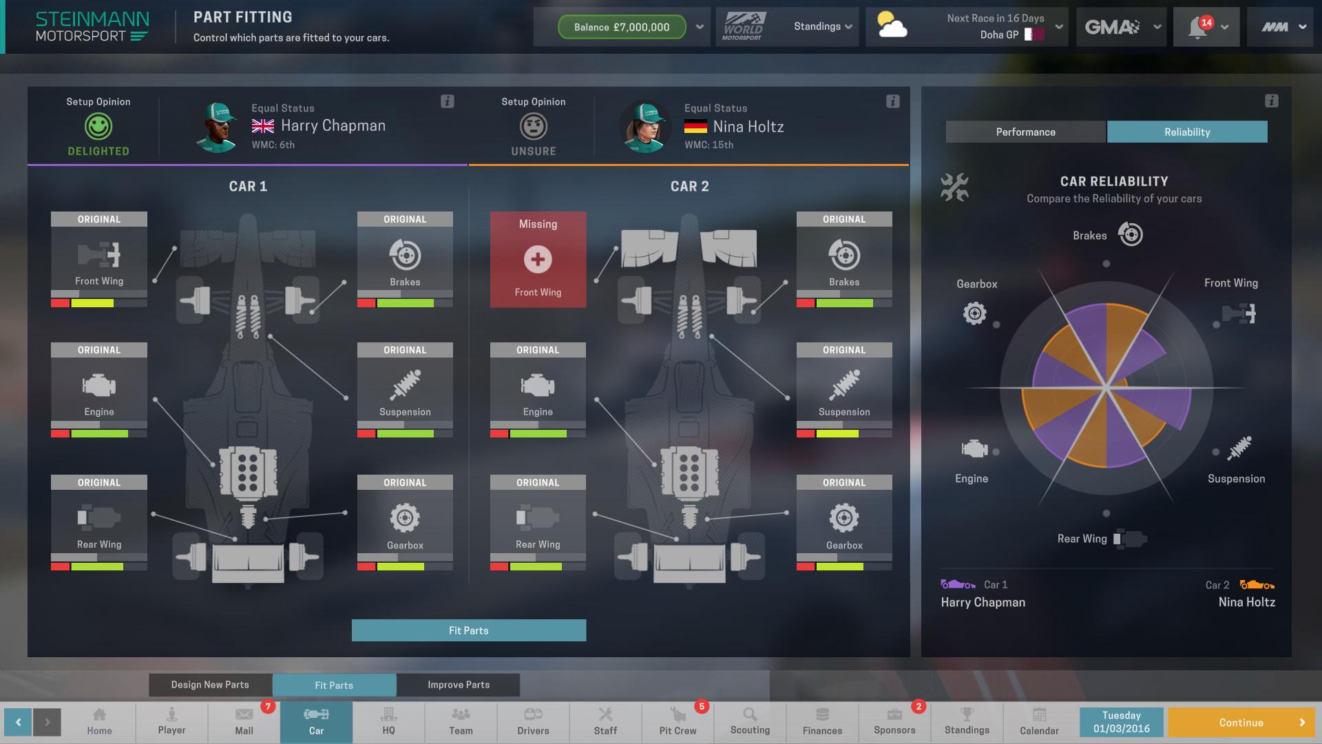 Motorsport Manager [RePack] [2016|Rus|Eng|Multi10]