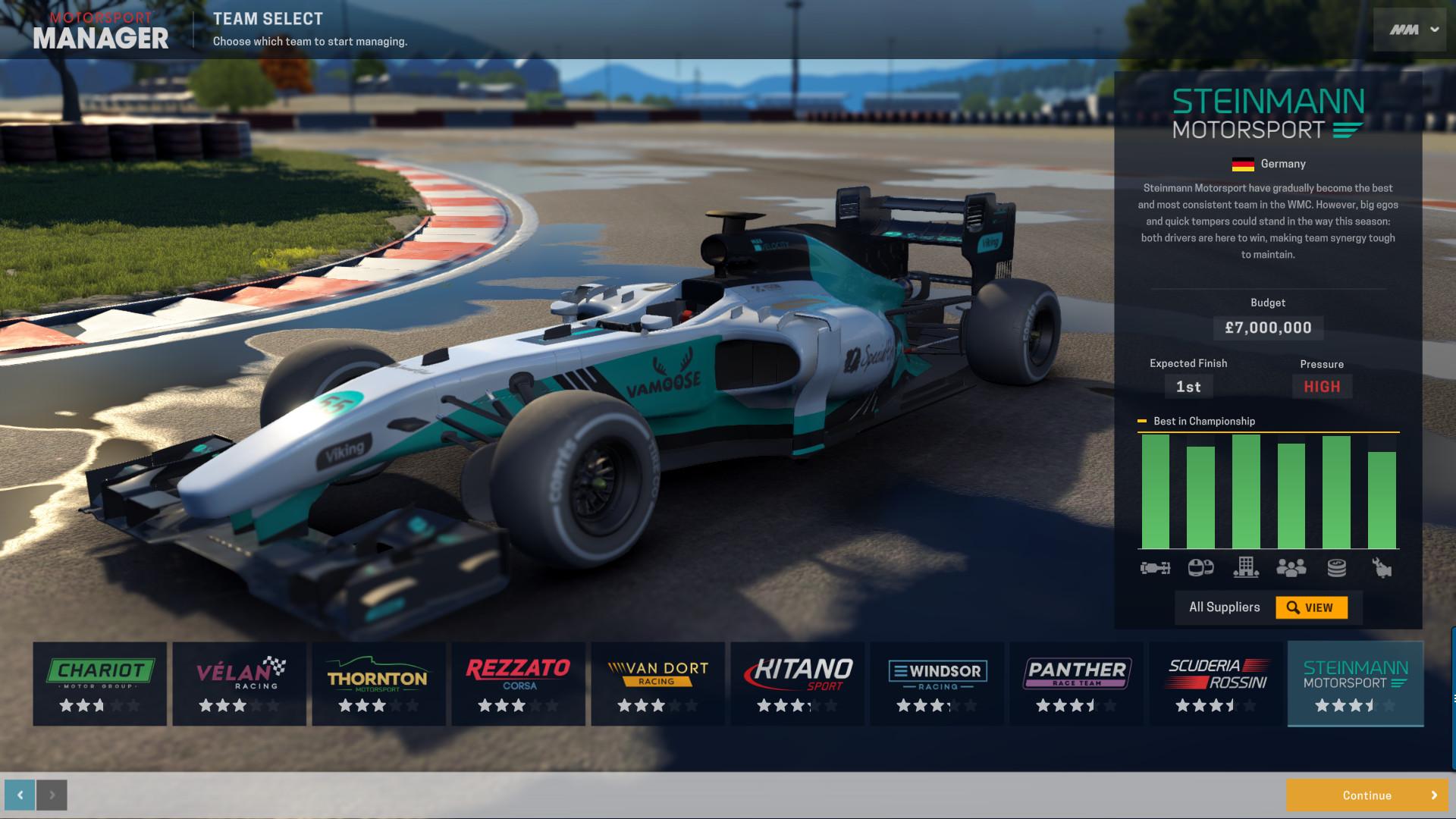 Find the best laptop for Motorsport Manager
