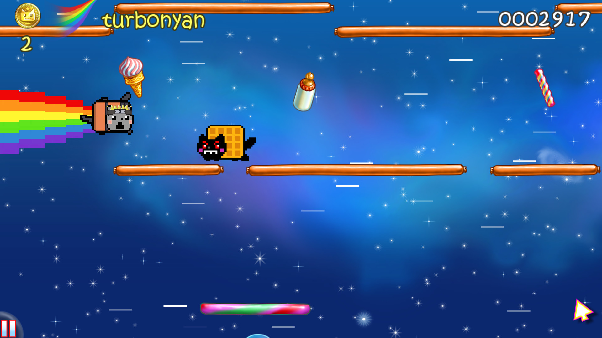 Nyan Cat: Lost In Space on Steam