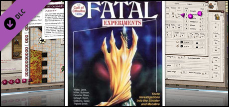 Fantasy Grounds - Call of Cthulhu: Fatal Experiments on Steam