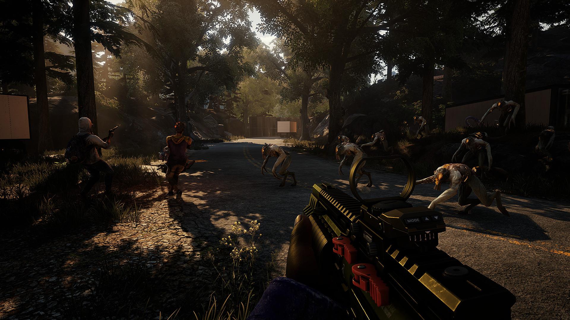 Скриншот игры Earthfall Build 20180829
