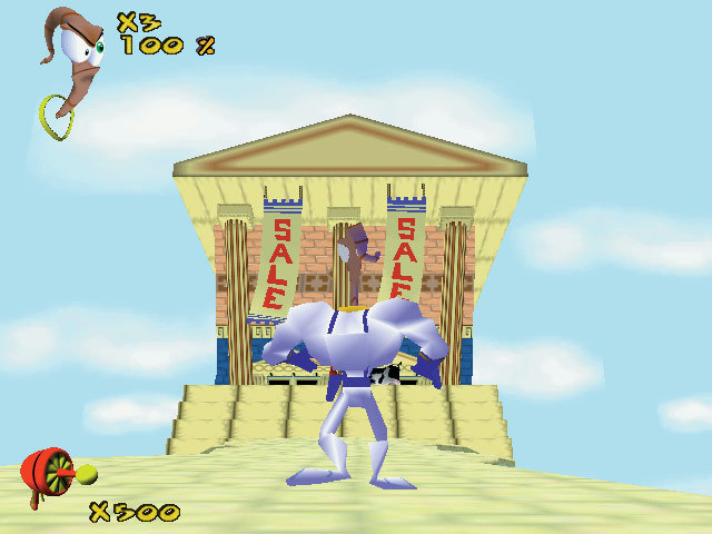 Earthworm Jim 3D screenshot 3
