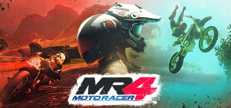 Game Banner Moto Racer  4