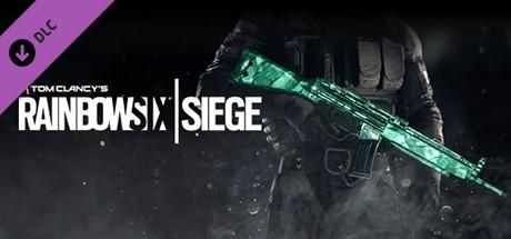 Tom Clancy's Rainbow Six Siege - Emerald Weapon Skin