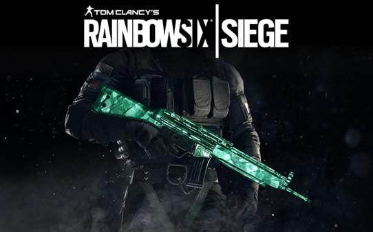 Tom Clancy's Rainbow Six® Siege - Emerald Weapon Skin