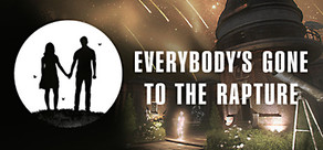 Everybody's Gone to the Rapture cover art