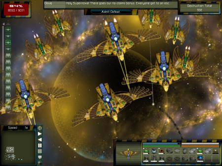 Gratuitous Space Battles: The Swarm (DLC)