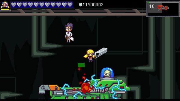 Screenshot of Cally's Caves 3