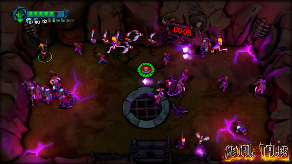 Screenshot of Metal Tales: Fury of the Guitar Gods